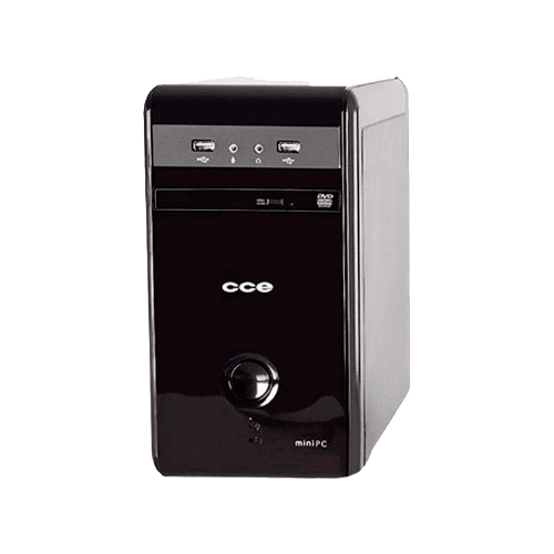 Computador Desktop CCE MP23 - Preto - Processador Intel Celeron J1800 - RAM 2GB - HD 320GB - Windows 8.1