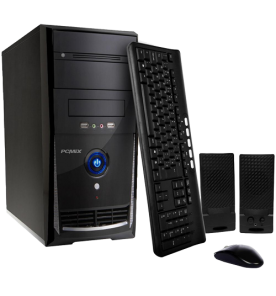 Computador Desktop PC Mix L3900 - Preto - Intel Core i7-3770 - RAM 8GB - HD 1TB - Linux