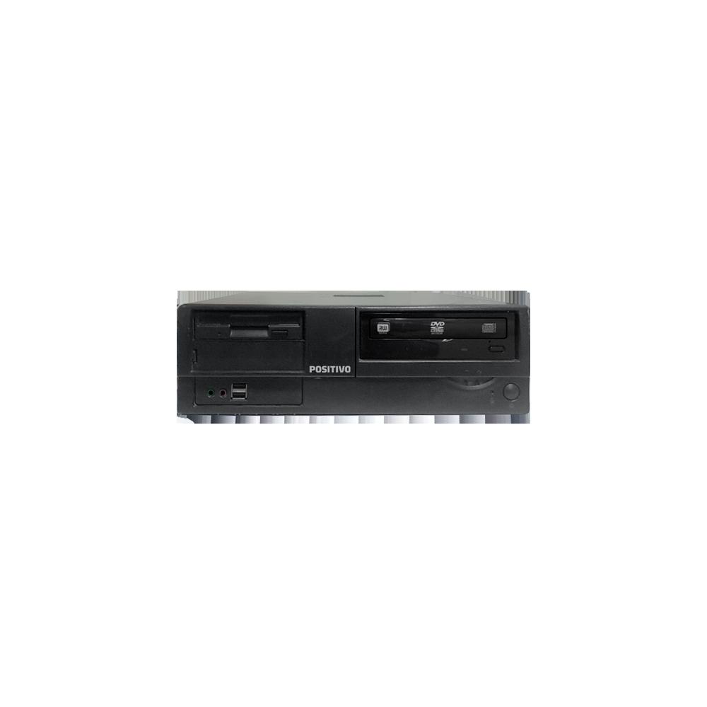 Computador Desktop Positivo AT SERIE-D - Intel Dual Core E7300 - RAM 2GB - HD 250GB - GeForce 8400GS - Windows Vista