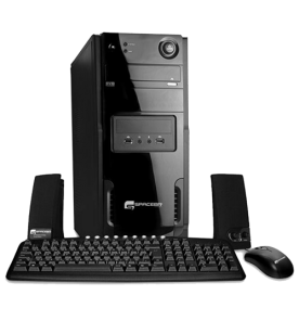 Computador Desktop Space BR SP-K21 - Intel Celeron 847 - RAM 2GB - HD 320GB - Linux