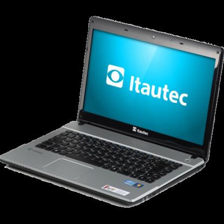 "Notebook Itautec W7730 - Prata - Intel Core i3-2350M - RAM 2GB - HD 500GB - Tela 14"" - Windows 7"
