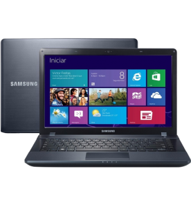 "Notebook Samsung Ativ Book 2 NP270E4E-KD6BR - Intel Celeron 1007U - RAM 4GB - HD 500GB - Tela 14"" - Windows 8"