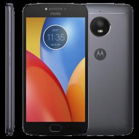 "Smartphone Motorola Moto E E4 Plus XT1773 - Titanium - 16GB - Dual-Chip - 13MP - Tela 5.5"" - Android 7.1"