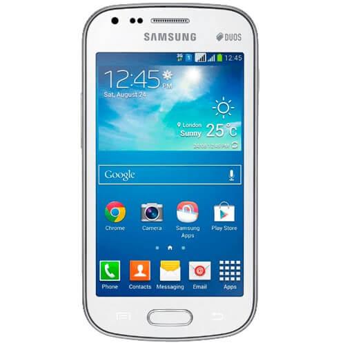 "Smartphone Samsung Galaxy S Duos 2 Branco - Dual Chip 3G - 5MP - Android 4.2 - Tela 4"" - Dual Core - Desbloqueado"