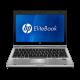 "Notebook HP EliteBook 2560p - Prata - Intel Core i5-2520M - RAM 4GB - HD 250GB - Tela 12.5"" - Windows 7 Pro"