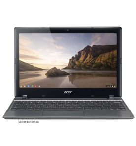 "Notebook Acer Chromebook C710-2859 - Intel Celeron 1007U - RAM 2GB - SSD 16GB - Tela 11.6"" - Chrome OS"
