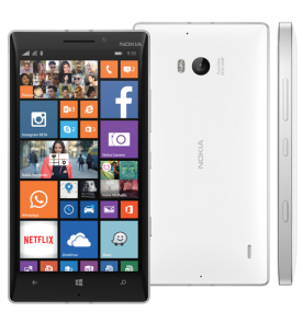 Smartphone Nokia Lumia 930 - Branco - 32GB - 20MP - Quad Core - Tela 5 - Windows Phone 8.1