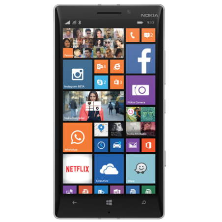Smartphone Nokia Lumia 930 - Branco - 32GB - 20MP - Quad Core - Tela 5 - Windows Phone 8.1