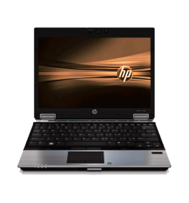 "Notebook HP Elitebook 2540P - Intel core i7-640M - RAM 4GB - HD 160GB SATA - Tela 12.1"" - Windows 10"