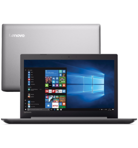 "Notebook Lenovo Ideapad 320-80YH0006BR - Prata - Intel Core i5-7200U - RAM 8GB - HD 1TB - Tela 15.6"" - Windows 10"