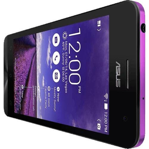 "Smartphone ZenFone 5 ASUS A501CG-1F589BRA Roxo - 8GB - RAM 2GB - Intel Atom Z2560 1.6GHz - Dual Chip - Tela 5"" - Android 4.4"