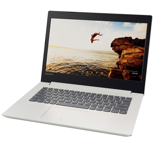 "Notebook Lenovo Ideapad 320-80YF0008BR - Branco - Intel Core i3-6006U - RAM 4GB - HD 500GB - Tela 14"" - Windows 10"