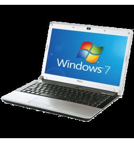 "Notebook Philco 14A4-R444WP - Intel Core i3-2310M - RAM 4GB - HD 500GB - Tela 14"" - Windows 7"