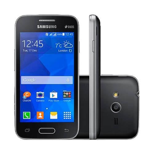 "Smartphone Samsung Galaxy Ace 4 Preto - Neo SM-G318M - 3G - Câmera 3MP - Tela 4"" - Dual Core - Android 4.4"