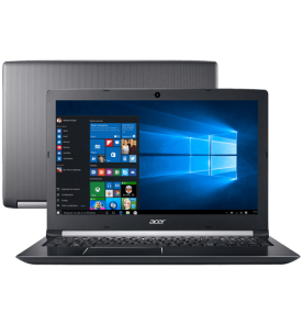 "Notebook Acer A515-51G-C97B Preto Intel Core i5-8250U NVIDIA GeForce MX130 - RAM 8GB - HD 1TB Tela 15.6"" Windows 10"
