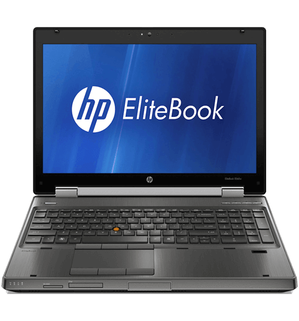 "Notebook HP Elitebook 8540W - Cinza - Intel Core i7-620M - HD 320GB - RAM 4GB - Tela 14"" - Windows 7 Pro"