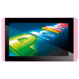 "Tablet Philco 7A1-R111A4.0 Rosa - Tela de 7"" - ARM Cortex A8 - RAM 1GB - Câmera de 2MP - 8GB - Android 4.0"