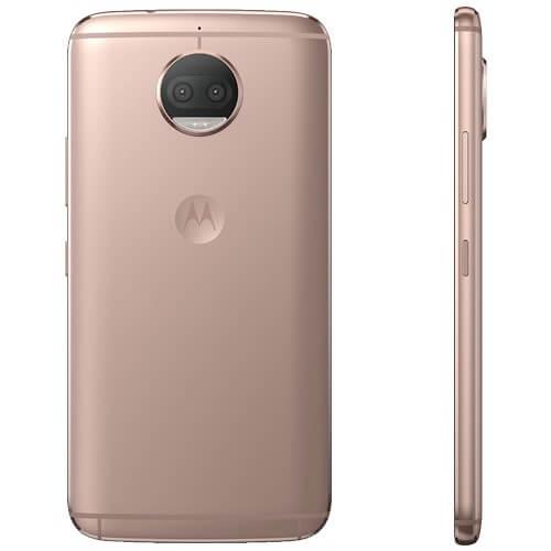 "Smartphone Motorola Moto G5s Plus XT1802 Rosé - 32GB - TV Digital - 13MP - Tela 5.5"" Android 7.1"