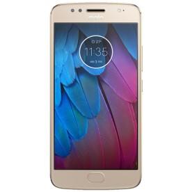 Smartphone Motorola Moto G 5S XT1792, cor ouro, armazenamento de 32GB, processador Octa-Core, câmera traseira 16MP e frontal de 5MP, tela de 5.2 polegadas e sistema operacional Android 7.1