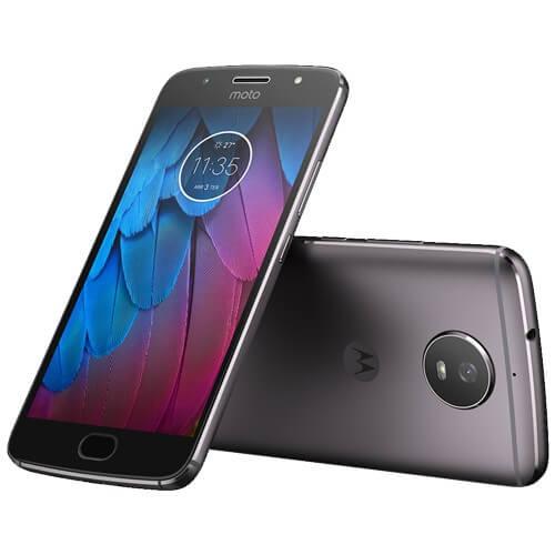 "Smartphone Motorola Moto G 5S XT1792 Platinum - Dual-Chip - 32GB - 16MP - Tela 5.2"" Android 7.1"