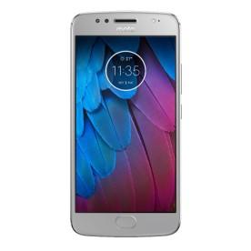 Smartphone Motorola Moto G 5S XT1792, na cor prata, armazenamento de 32GB, processador Octa-Core de 1.4GHz, câmera 16MP e frontal de 5MP, conectividade 4G, tela de 5.2 polegadas e sistema...