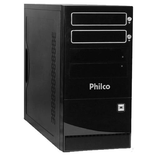 Desktop PC Philco DTC-P984LM - Preto - AMD A6-3500 - RAM 4GB - HD 500GB - Linux