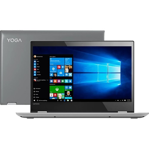 "Notebook Lenovo 2 Em 1 Yoga 520-80YM0009BR - Intel Core i5-7200U - RAM 8GB - HD 1TB - Tela 14"" - Windows 10"