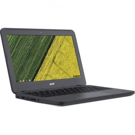 """Notebook Acer Chromebook C731-C9DA - Preto - Intel Celeron N3060 - RAM 4GB - eMMC 32GB - Tela 11.6"""" - Chrome OS"""