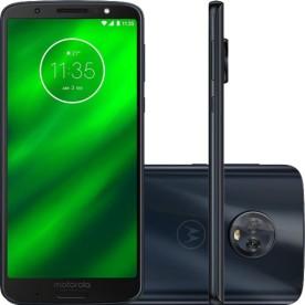 "Smartphone Motorola Moto G6 Plus XT1926 - Índigo - 64GB - 12MP - Tela 5.9"" - Android 8.0"