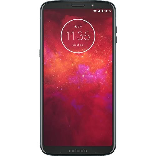 "Smartphone Motorola Moto Z3 PLAY XT1929 - Índigo - Dual-Chip - 64GB - 12MP - Tela 6"" - Android 8.1"