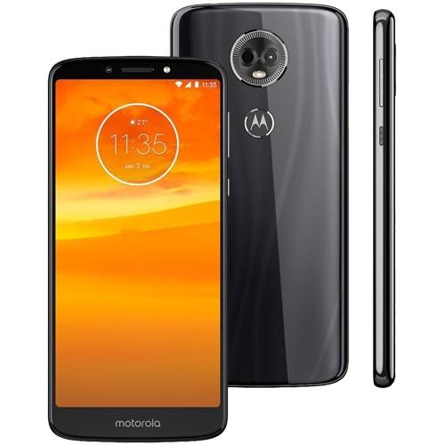 "Smartphone Motorola Moto E5 Plus XT1924-4 - Grafite - 16GB - 12MP - Tela 6"" - Android 8.0"