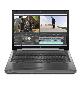 "Notebook HP Elitebook 8770W - Intel Core i7-3520M - HD 320GB - RAM 4GB - Tela 17.3"" - Windows 7 Pro"