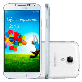 "Smartphone Samsung Galaxy S4 Mini Branco - 8GB - 4G LTE - Wi-Fi - 4.3"" - Dual Core - 8MP - Android 4.2"