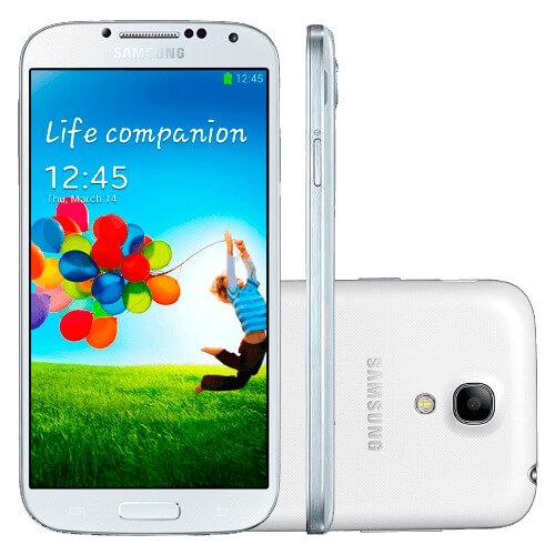 """Smartphone Samsung Galaxy S4 Mini Branco - 8GB - 4G LTE - Wi-Fi - 4.3"""" - Dual Core - 8MP - Android 4.2"""