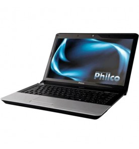 "Notebook Philco PHN 14A2-P244WB - Preto - Dual-Core - RAM 4GB - HD 500GB - Tela 14"" - Windows 7 Home Basic"