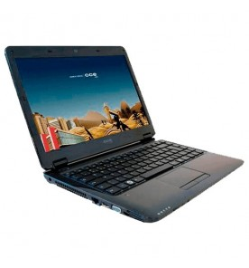 "Notebook CCE WIN E23L+ Preto - Intel Core i3-M350 - RAM 2GB - HD 320GB - Tela 14"" - Linux Satux 4.1"