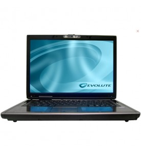 "Notebook Evolute SFX55 - Preto - Dual-Core - RAM 2GB - HD 320GB - Tela 14.1"" - Linux"