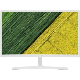 "Monitor Curvo Acer ED242QR - Branco - Tela Full HD 23.6"" - 75hz - HDMI"