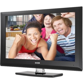 "TV Digital CCE L2401 - Preta - LED 24"" - HDMI - Conversor Digital"