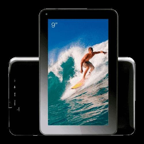 "Tablet CCE Motion Tab T935 Preto - Cortex A8 - Wi-Fi - Câmera frontal - Tela 9"" - Android 4.0"