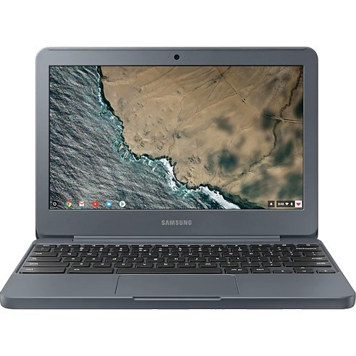 "Notebook Samsung Chromebook XE501C13-AD1BR - Grafite - Intel Celeron N3060 - eMMC 16GB - RAM 2GB - Tela 11.6"" - Chrome OS"