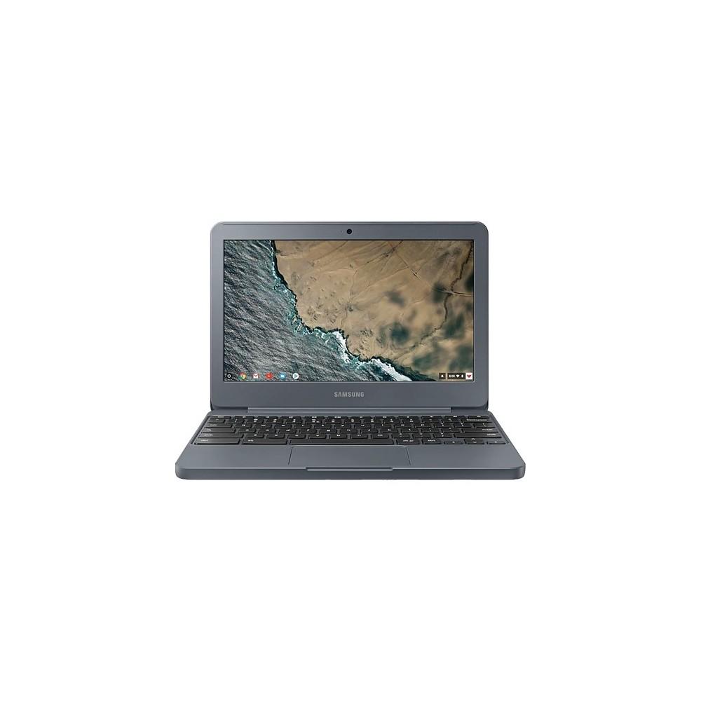 "Notebook Samsung Chromebook XE501C13-AD1BR - Grafite - Intel Celeron N3060 - eMMC 16GB - RAM 2GB - Tela 11.6"" - Chrome OS"