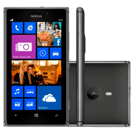 "Smartphone Nokia Lumia 925 Preto - 4G - 16GB - 8.7MP - Windows Phone 8 - Tela 4.5"" - Desbloqueado"