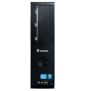 Computador Desktop Itautec ST 4272P - Intel Pentium G840 - RAM 4GB - HD 500GB - Windows 7 Pro