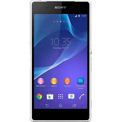 "Smartphone Sony Xperia Z2 – 4G - D6503 – 16GB – Branco – Tela LCD 5.2"" – NFC"