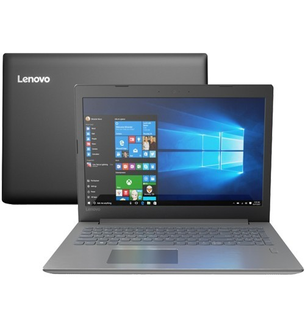 "Notebook Lenovo 320-81G30000BR - Intel Core i7-8550U - GeForce MX150 - RAM 8GB - HD 1TB - Tela 15.6"" - Windows 10"