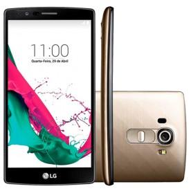 "Smartphone LG H815 G4 - Dourado - 32GB - 4G - Camêra 16MP - Tela 5.5""- Android 5.1"