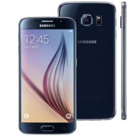 "Smartphone Samsung Galaxy S6 SM-G920F - Preto - 64GB - 4G - 16MP - Tela 5.1"" - Android 5.0"
