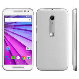 Smartphone Motorola Moto G XT1543 4G Dual Chip - 16GB - Branco - Android 5.1