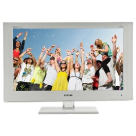"TV CCE LED 24"" LW2401 Branco Full HD"